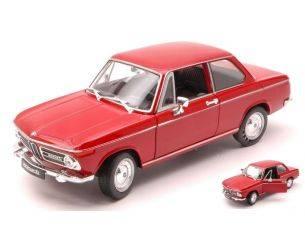 Welly WE4053R BMW 2002 Ti 1972 RED 1:24 Modellino