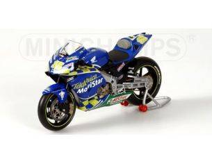 MINICHAMPS 122037123 HONDA RC211V R. KIYONARI MOTOGP 2003 Modellino