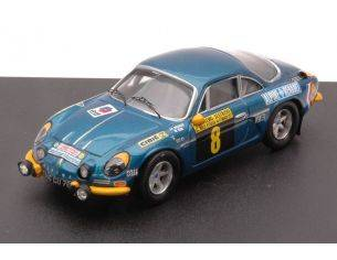 Trofeu TF0836 ALPINE RENAULT A110 N.8 6th RALLY S.REMO 1971 NICOLAS-VIAL 1:43 Modellino