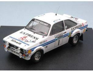 Trofeu TF1018 FORD ESCORT MK II EXPRESS N.1 4th R.A.C. 1977 CLARK-PEGG 1:43 Modellino