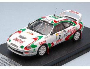 Trofeu TFRRAL47 TOYOTA CELICA N.2 2nd RALLY OF PORTUGAL 1995 KANKKUNEN-GRIST 1:43 Modellino