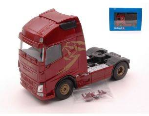 Universal Hobbies UH2007 VOLVO FH GLOBETROTTER XL EURO 6 CAB WINE RED METALLIC 1:50 Modellino
