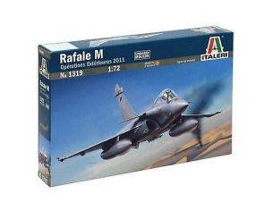 Italeri IT1319 French Air Force Rafale M Operations Exterieures 2011 1:72 Modellino