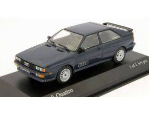 MINICHAMPS 430019425 Audi 4 Copenaghen Blu 1981 1:43  Modellino