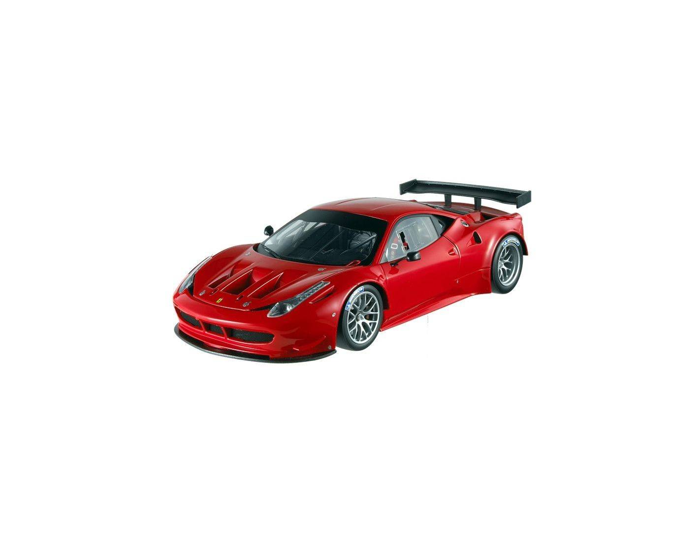 Hot Wheels Elite 2860 Mattel Ferrari 458 Italia GT2 1:18 Modellino