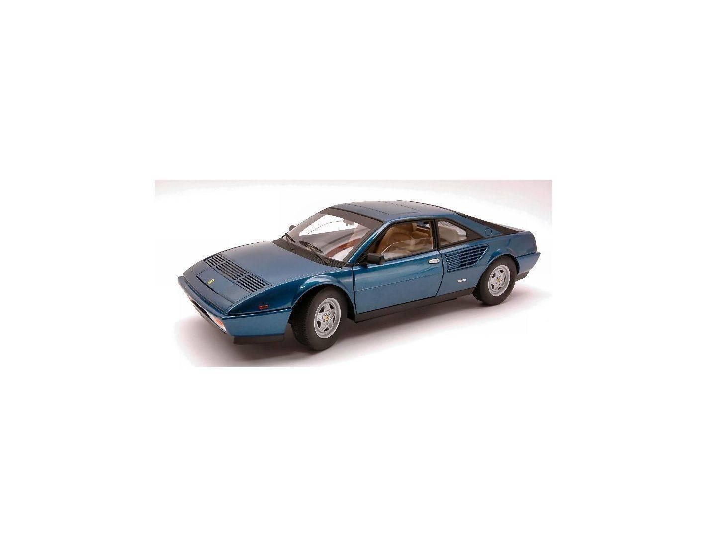 auto 1 18 hot wheels elite p9890 ferrari mondial 8 1980 blue metalizzato 1 18 modellino. Black Bedroom Furniture Sets. Home Design Ideas