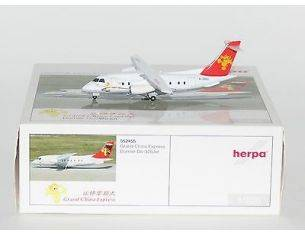 HERPA AEREO 552455 GRAN CHINA EXPRESS DORNIER DO-328 JET 1/200 Modellino