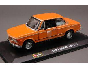 Bburago BU43210C BMW 2002 TII ORANGE 1:32 Modellino