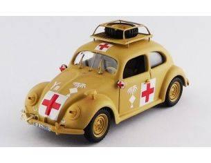 Rio RI4525 VW MAGGIOLINO AMBULANCE AFRICA KORPS 1941 1:43 Modellino