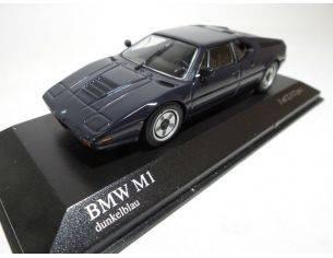MINICHAMPS 430025024 BMW M1 STREET BLUE 1978 Modellino