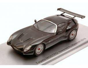Kess Model KS43044000 ZAGATO MOSTRO RACING POWERED BY MASERATI 2015 BLACK LIM.250 1:43 Modellino