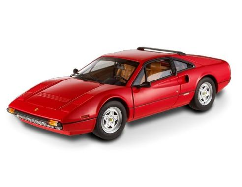 Hot Wheels T6923 Ferrari 308 GTB Rossa 1978 Serie Elite 1:18 Modellino
