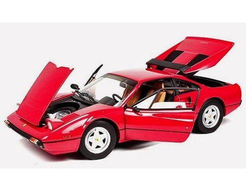 Hot Wheels T6923 Ferrari 308 GTB Rossa 1978 Serie Elite  1:18 Modellino