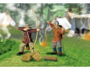 Unimax Forces of Valor 22202 Vikings Raiders and Discovers 1:32 Kit Personaggi