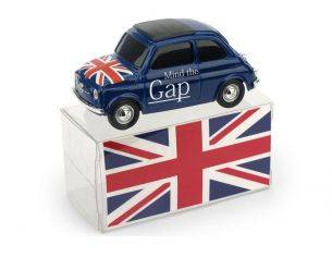 Brumm BMBR055 FIAT 500 BRUMS MIND THE GAP - GOD SAVE THE QUEEN LIM.200 PCS 1:43 Modellino