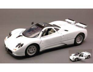 Motormax MTM73272WH PAGANI ZONDA C12 1999 WHITE 1:24 Modellino
