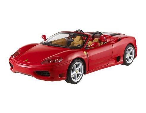 Hot Wheels Elite T9903 Ferrari 360 Spider Rossa Die Cast 1:18 Modellino
