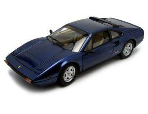Hot Wheels HWT6924 FERRARI 308 GTB BLUE 1:18 Modellino