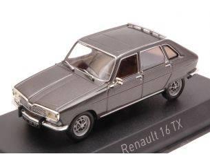 Norev NV511621 RENAULT 16 TX 1976 ELYSEE GREY METALLIC 1:43 Modellino