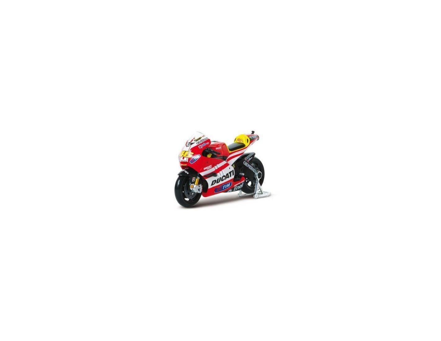 Motorama 498169 MOTO GP2011 DUCATI DESMOSEDICI VALENTINO ROSSI 46 SCALA 1:16 Modellino