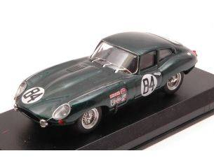 Best Model BT9657 JAGUAR E-TYPE COUPE' N.84 NC 12 H SEBRING 1968 RODGERS-ROBSON 1:43 Modellino