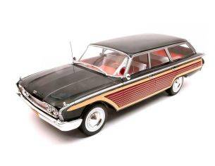 Mac Due MCG18073 FORD COUNTRY SQUIRE 1960 WOODEN/BLACK 1:18 Modellino