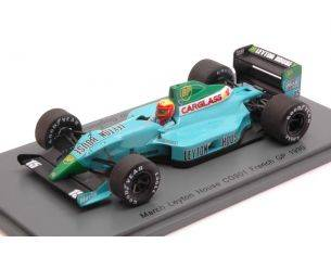 Spark Model S2980 LEYTON HOUSE CG901 M.GUGELMIN 1990 N.15 RETIRED FRENCH GP 1:43 Modellino