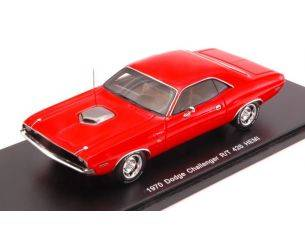 Spark Model S3612 DODGE CHALLENGER RT 426 HEMI 1970 RED 1:43 Modellino