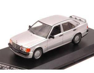 White Box WB246 MERCEDES 190E 2.3 16V 1988 SILVER 1:43 Modellino