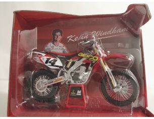 New Ray 44103 HONDA CRF450R N.14 KEVIN WINDHAM 1:12 Modellino