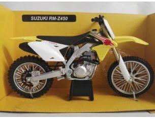 New Ray NY57783 SUZUKI RM-Z450 GIALLA MOTOCROSS 1:12 Modellino