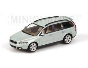 Minichamps 400171211 VOLVO V50 2003 VERDE METALIZZATO 1:43 Modellino