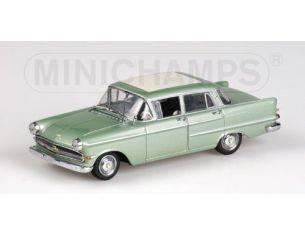 Minichamps 430040004 OPEL CAPITAN 1959 VERDE METALIZZATO 1:43 Modellino