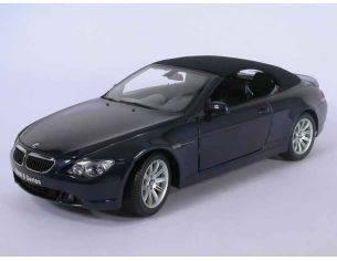 Kyosho 8702NB BMW 645ci CONVERTIBLE BLU NAVY 1/18 Modellino