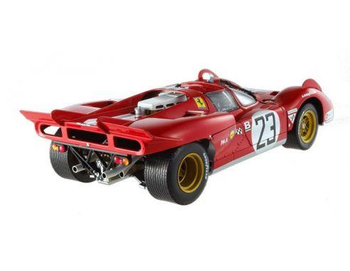 Hot Wheels Elite T6930 FERRARI 512S 24H DAYTONA 1971 1:18 Modellino