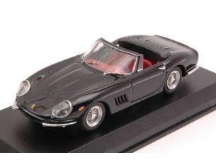 Best Model BT9005-2 FERRARI 275 GTB-4 NART SPYDER 1967 BLACK 1:43 Modellino