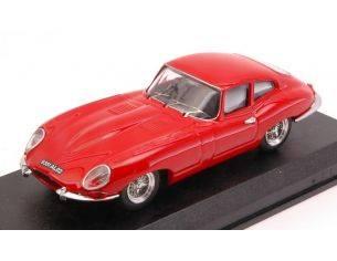 Best Model BT9012-2R JAGUAR E TYPE COUPE' 1962 RED 1:43 Modellino