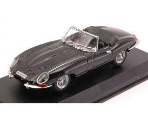 Best Model BT9027-2N JAGUAR E TYPE SPYDER 1962 BLACK 1:43 Modellino
