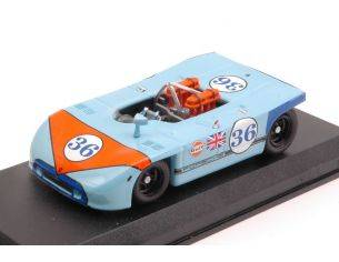 Best Model BT9034 PORSCHE 908-03 N.36 5th TARGA FLORIO 1970 B.WALDEGAARD-R.ATTWOOD 1:43 Modellino
