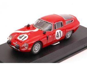 Best Model BT9097 ALFA ROMEO TZ1 N.41 15th LM 1964 G.BISCALDI-G.SALA 1:43 Modellino