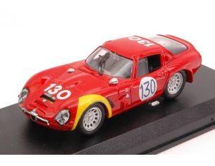 Best Model BT9104 ALFA ROMEO TZ2 N.130 10th TARGA FLORIO 1966 R.BUSSINELLO-L.BIANCHI 1:43 Modellino
