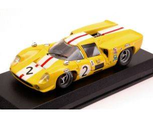 Best Model BT9157 LOLA T70 COUPE' N.2 6th 6 H BRANDS HATCH 1968 J.BONNIER-S.AXELSSON 1:43 Modellino