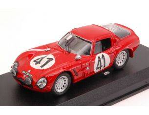 Best Model BT9174 ALFA ROMEO TZ2 N.41 RETIRED LM 1965 R.BUSSINELLO-J.ROLLAND 1:43 Modellino