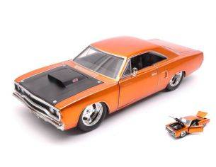 Jada JADA97126 DOM'S PLYMOUTH ROAD RUNNER 1970 FAST & FURIOUS COPPER METALLIC 1:24 Modellino