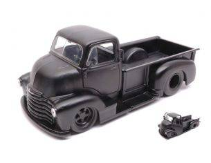 Jada JADA97461 CHEVY COE PICK UP 1952 MATT BLACK 1:24 Modellino
