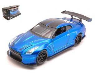 Jada JADA98270 BRIAN'S NISSAN GT-R BEN SOPRA FAST & FURIOUS METALLIC BLUE 1:32 Modellino