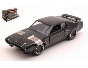 Jada JADA98300 DOM'S PLYMOUTH GTX FAST & FURIOUS BLACK 1:32 Modellino