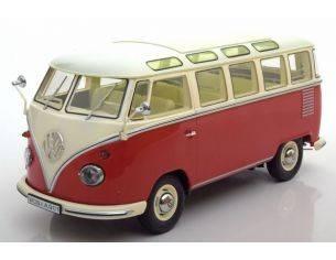 KK Scale KKDC180151 VW T1 SAMBA BUS 1959 RED/CREME 1:18 Modellino