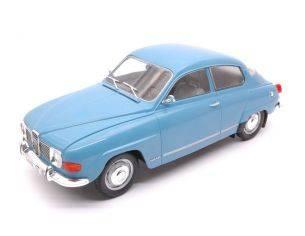 Mac Due MCG18060 SAAB 96 V4 1967 LIGHT BLUE 1:18 Modellino