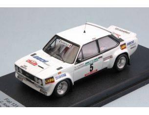 Trofeu TFRRAL48 FIAT 131 ABARTH 4th RALLY OF PORTUGAL 77 ANDRUET/DELFERRIER 1:43 Modellino